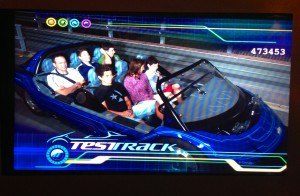 Test Track attraction
