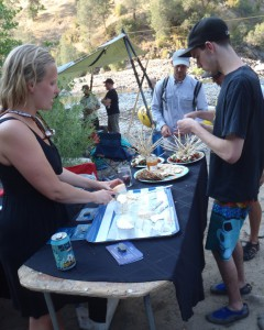 Tasting the Cypress Grove chevre