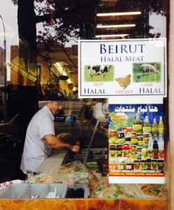 Making pita at Beirut