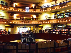 The 100 year old El Ateneo bookstore